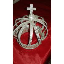 Corona Adorno Navidad 13x17cm Deconamor Regalos