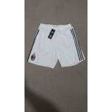 Short Ac Milan 2015-2016 Titular adidas Original Nuevo