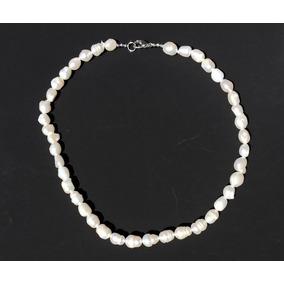 ff1625ac54c9 Collar Largo Perlas De Río Auténticas Con Conchas - Joyería en ...
