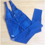 Braga De Blue Jeans Larga Talla M