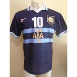 Camiseta Argentina Reebok Copa América 99 1999 Ortega #10 M