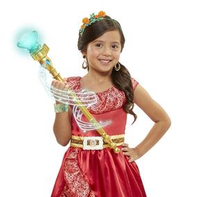 Bastão Mágico Com Som E Luz Elena De Avalor Original Disney