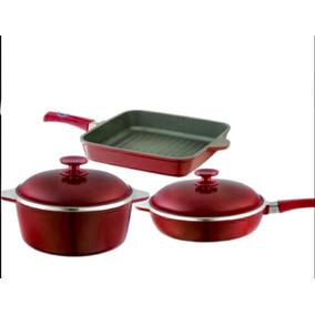 Cacerola 24cm + Sarten 24 Cm+ Bifera Marsala Essen