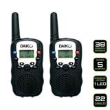 Daiku Radios Intercomunicadores Doble Via Tecnología Y Hct7