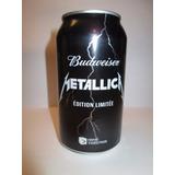 Promoción Metallica Budweiser- Cerveza Edición Limitada