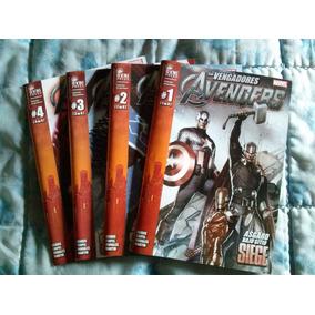 Los Vengadores Original Colección De 4 Cómics Completa.