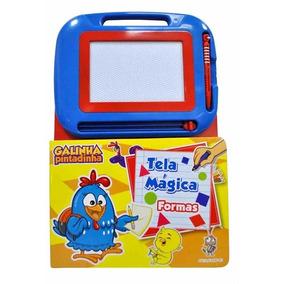 Galinha Pintadinha: Tela Magica - Escreva E Apague C/ Caneta