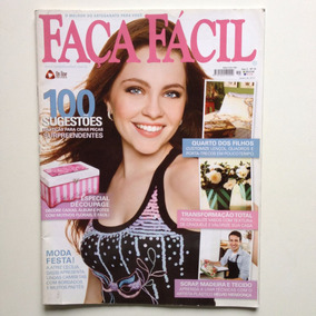 Revista Faça Fácil Cecília Dassi Découpage Caixas Potes N°19
