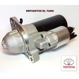 Burro Motor De Arranque Toyota Hillux 3.0 4x2 4x4