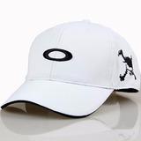 Boné Oakley Caveira Para Golfe Com Proteção Uv | Branco