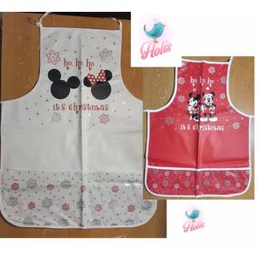 Kit Mandil De Cocina Mickey Mouse Disney 2pzs Disney