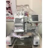 Maquina Bordadora Semi Industrial Sunstar Con Kit De Gorra