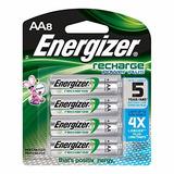 Baterias Aa Energizer 8 2300 Mah Aa Recargables Power Plus