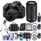 Nikon D5600 Dslr Cámara Kit Con Afp Dx Mm F / G Vr Y Afp