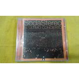 Soda Stereo Cds Ultimo Concierto, Original Edicion Colombia