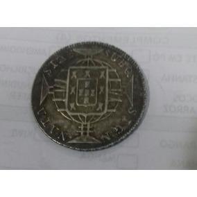 Moeda De Prata Antiga De 640 Rèis