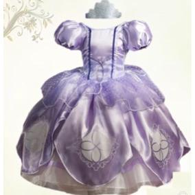 Princesita Sofia Vestido Princesa Y Zapatillas Envio Gratis!