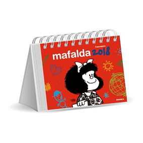 Calendario De Escritorio Mafalda 2018 Rojo
