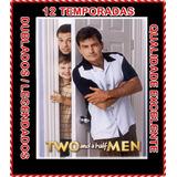 Dvds Dois Homens E Meio Completo 1 A 12 Temporada 24 Dvds