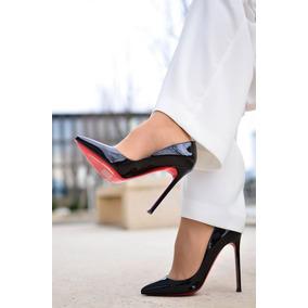 f83dfc0fe3 Sapato Scarpin Sola Vermelha - Sapatos no Mercado Livre Brasil