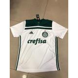 6208e449e6 Camisa Do Palmeiras Branca Top no Mercado Livre Brasil