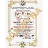 Plantillas Para Diplomas Redibujadas En Coreldraw (con Text)