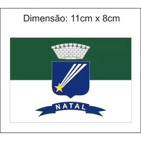 Adesivo Bandeira De Natal Rn 5 Unidades