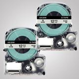 Cinta Blanca 12mm P/ Rotuladora Epson Lw300 400 Lc4wbn9