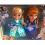 Frozen Snow Glow Elsa Y Anna Vestidos Mágicos Cantan Luces