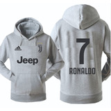 Blusa Moleton Juventus Cr7 Cristiano Ronaldo Futebol Europeu