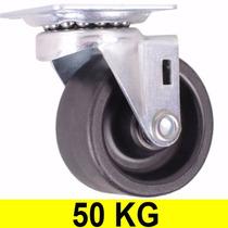 Roda Rodinha Para Moveis Vasos Mesa Rodízio Rodas 50mm 50kg