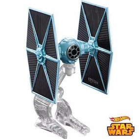 Nave Star Wars Tie Fighter Coleção Hotwheels Drx09 Mattel