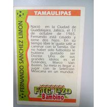 Tarjeta Futgolazo Bambino Fernando Sanchez Limon
