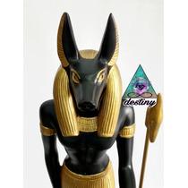 Figura De Anubis Dios Egipcio - 40 Cm
