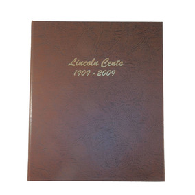 Dansco Us Lincoln Cent Coin Album