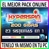 Hyperspin 200gb 21 Sistemas Mame Ps2 Gamecube Etc - Digital