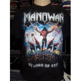 Camiseta Manowar The Lord Of Steel