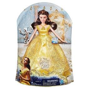 Boneca Bela Fera Canta Articulada Roupa Disney Princesa - Brinquedos ... bcdb2b8aaa3
