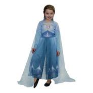 Disfraz Elsa Frozen 2 Celeste Original New Toys Edu Full