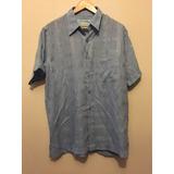 Camisa Botão Azul - Sandpiper M