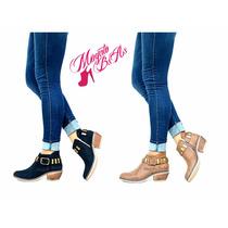 Zapatos Botas Mujer Charritos Tachas Otoño-invierno 2017