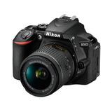 Cámara Nikon D5600 Lente 18-55 Nueva Y Sellada