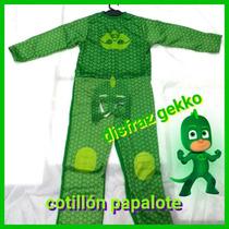 Disfraz Gekko Pj Mask Heroes En Pijama Catboy Gatuno Owlette