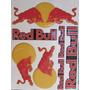 Adesivo Resinado Red Bull Cartela