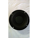 Subwoofwer Jvc 6olms 6,5pol 170mm 52w 300whats Pmpo.