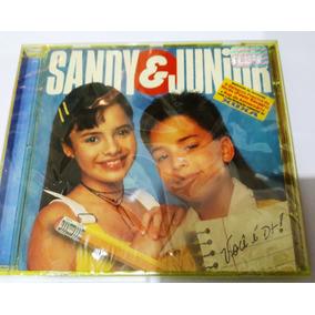 Cd Sandy E Junior Você É Demais Xuxa 1995 Lacrado De Fabrica