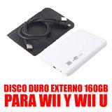 Disco Duro Externo De 160gb Para Wii Y Wii U