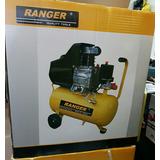 Compresor Ranger + Pistola + Manguera 2 Años De Garantía