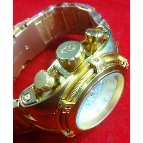Relógio Atlantis Style Analogo A3338 Aço Dourado Invicta Zeu
