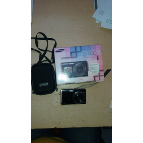 Cámara Fotos Samsung St500 Color Negro